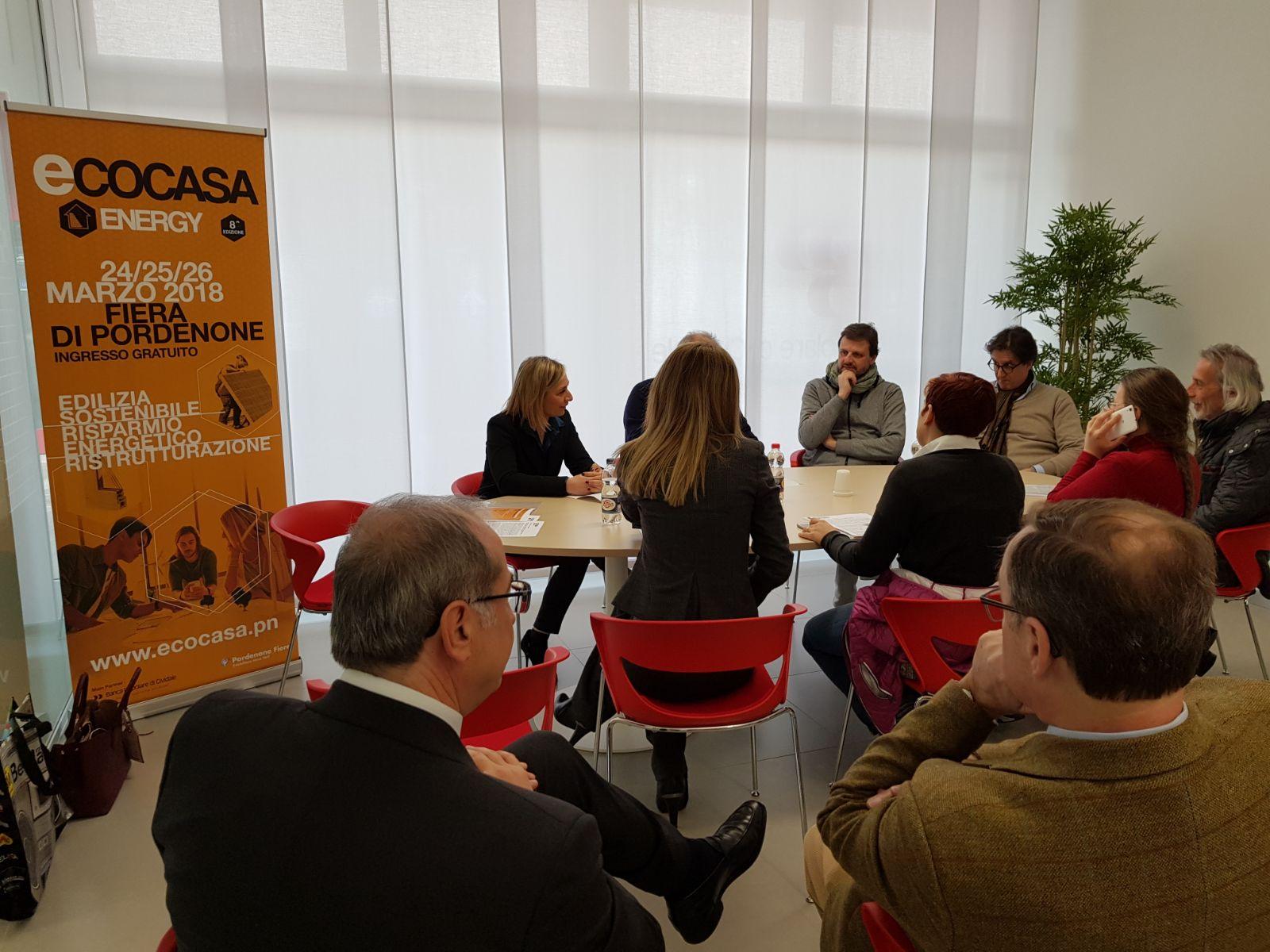 conferenza stampa ecocasa