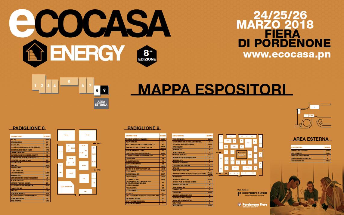 mappa espositori 2018